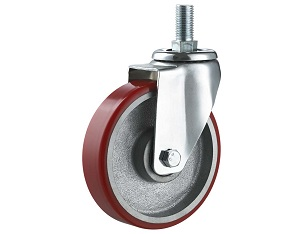 Medium Duty Caster Moldon Polyurethane Wheel